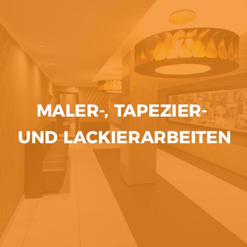 Privatkunden Menü Maler- Tapezier- und Lackierarbeiten