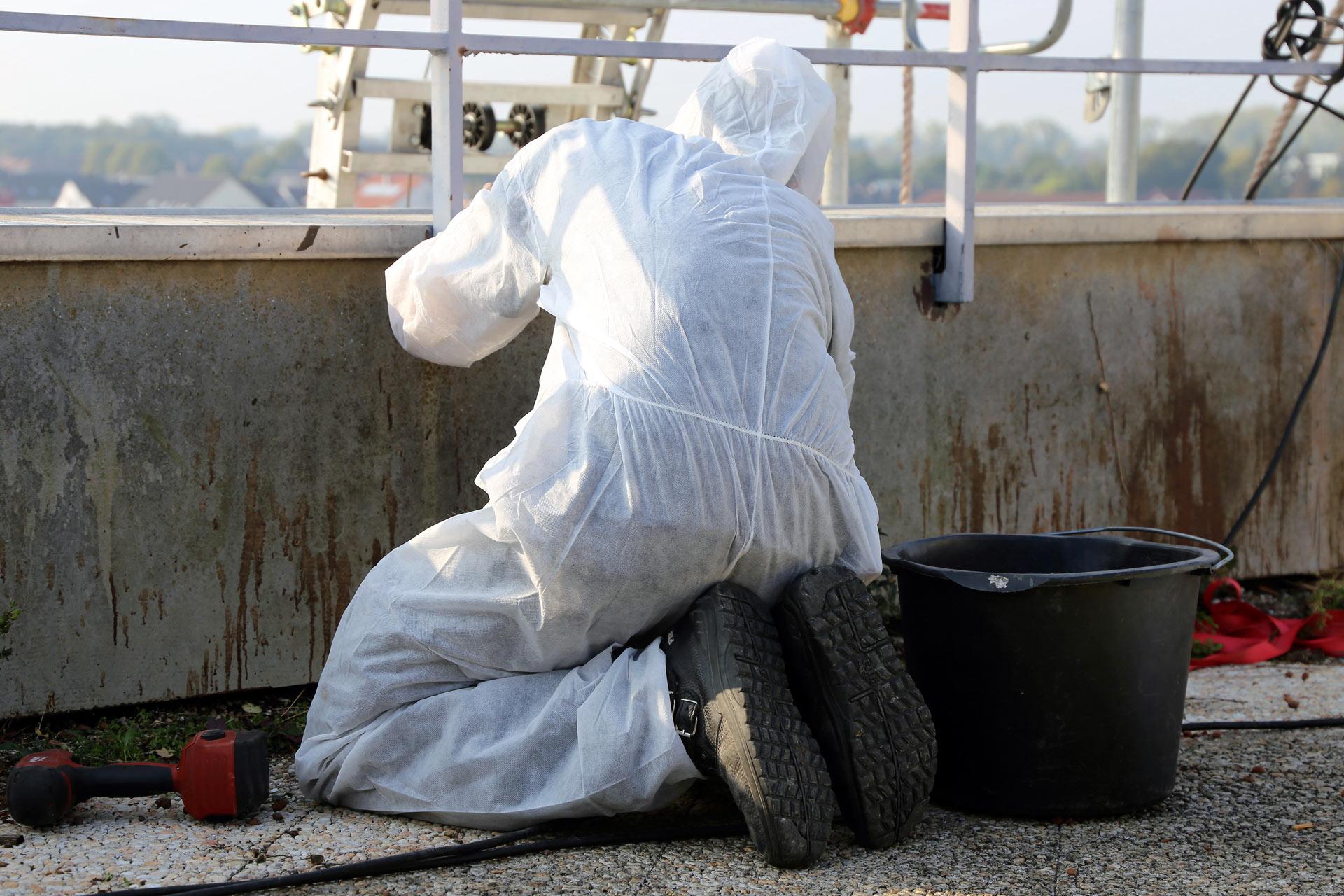 Asbestbearbeitung