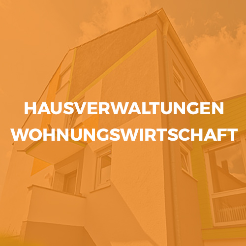 Hausverwaltung Wohnungswirtschaft